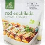 simply organic red enchilada simmer sauce