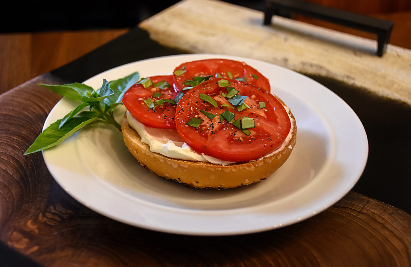 Tomato Basil Bagel