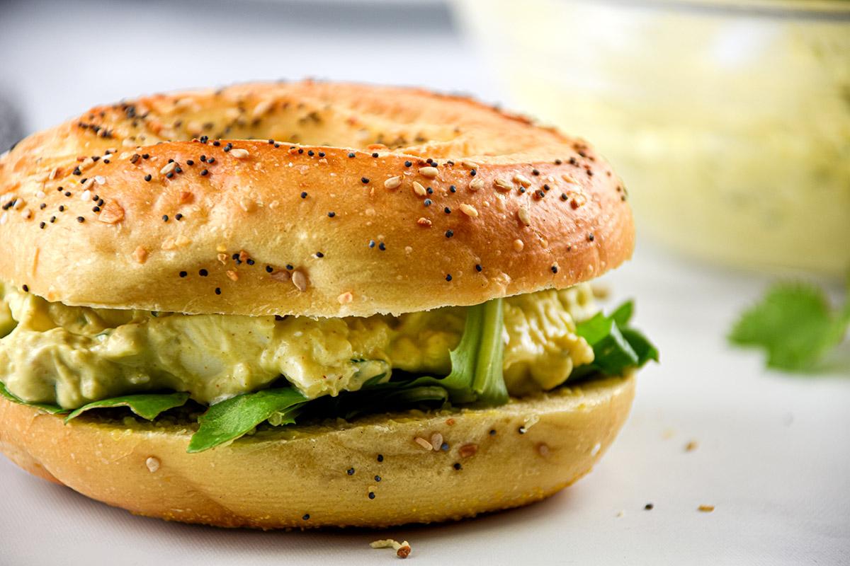 Acocado Egg Salad
