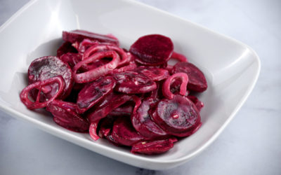 Beets in Mustard Sauce with Shallots