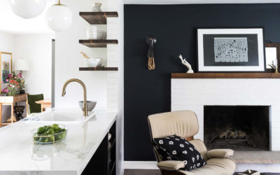 Clever Accent Walls