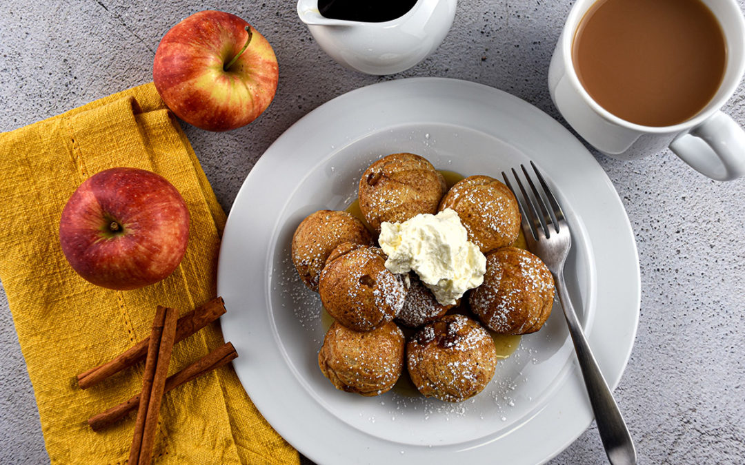 Apple Filled Pancakes