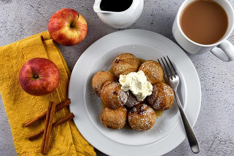Apple Stuffed Pancakes