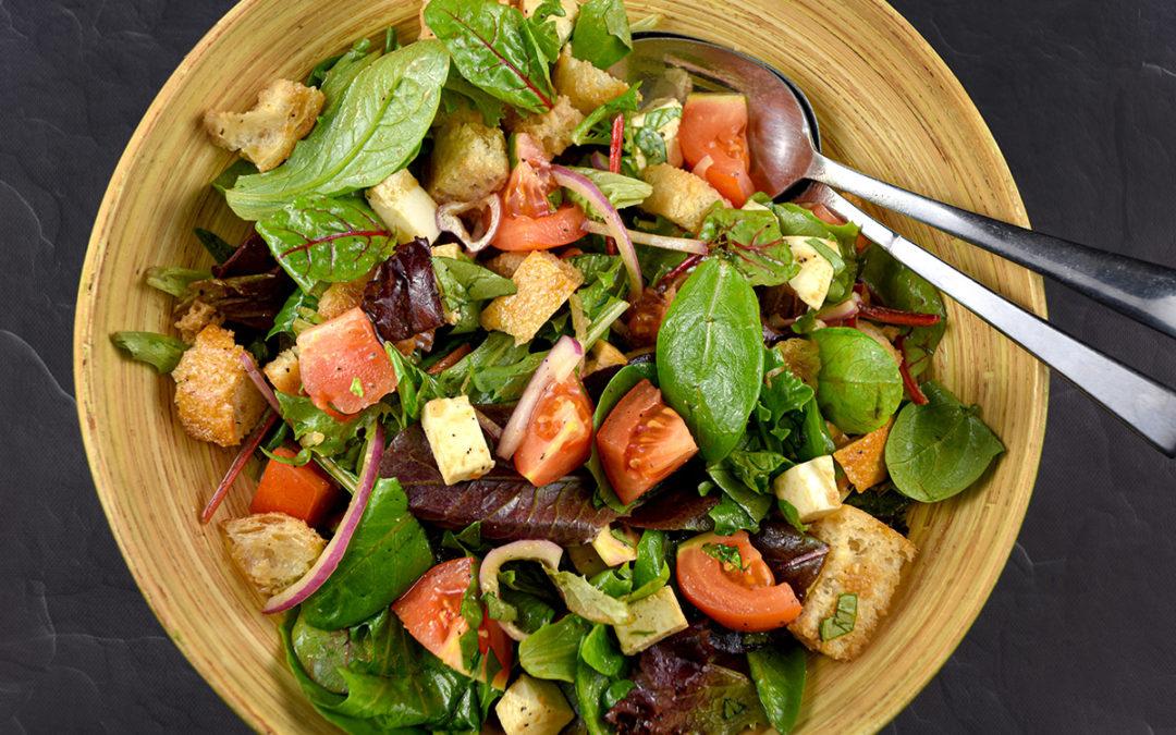 Panzanella Spring Mix Salad