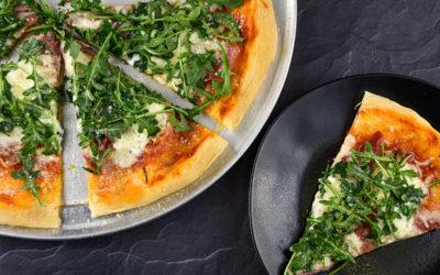 Prosciutto Mascarpone Pizza