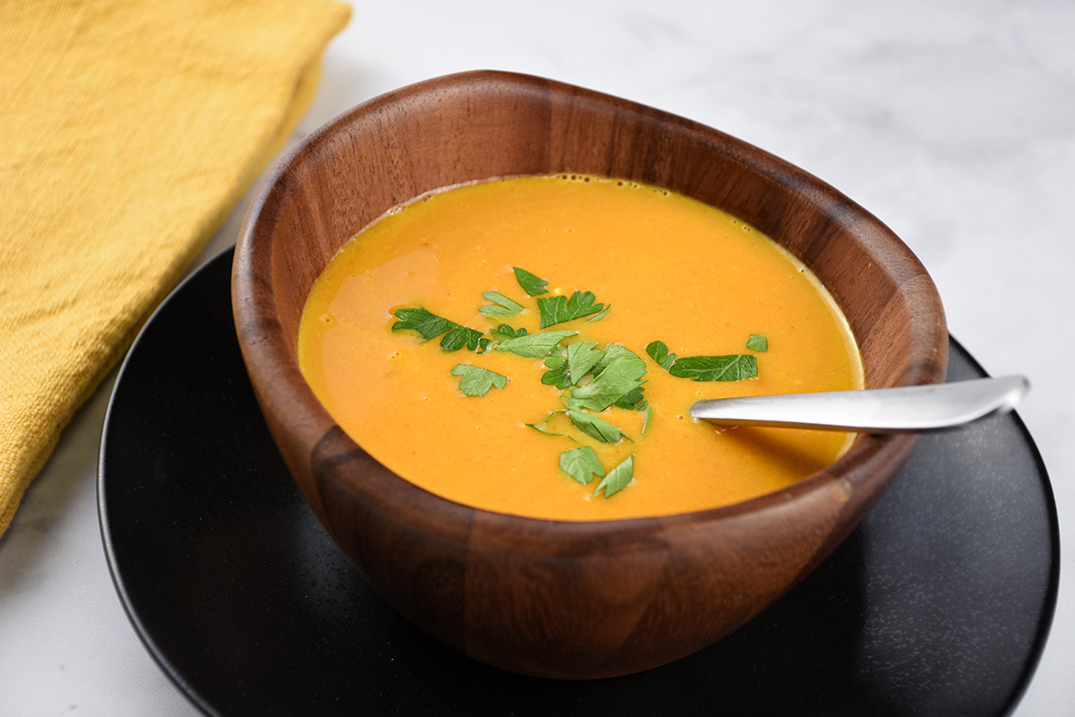 Thai Curried Carrot Soup