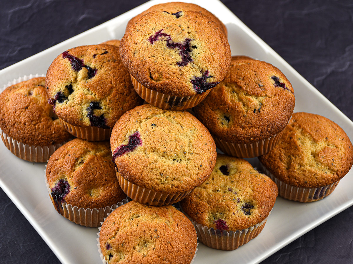 Blueberry and Chia Muffins