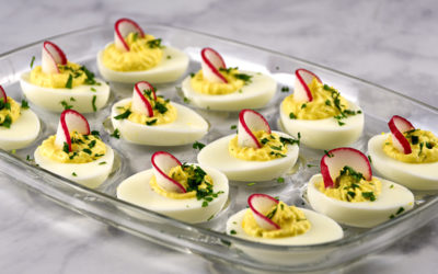 Deviled Eggs with Horseradish