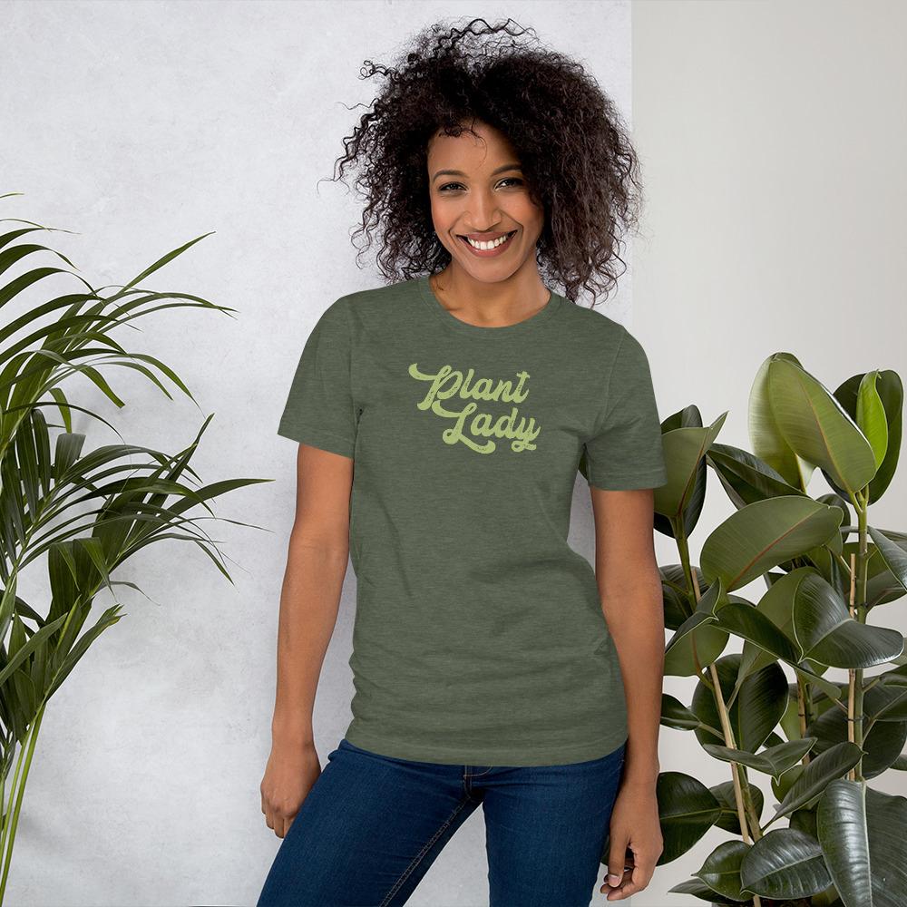 plant lady tshirt